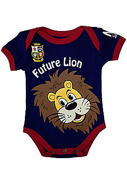 British & Irish Lions Rugby Baby Bodysuit - Navy - Navy