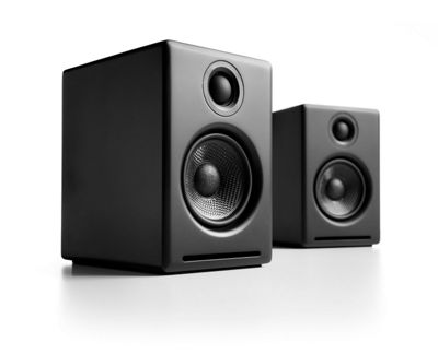 Audioengine A5+ Powered Speakers (Pair) Satin Black