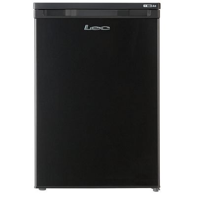 Lec U5511B 85litre Upright Freezer Class A+ Black