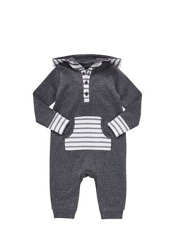 F&F Hooded All in One - Grey