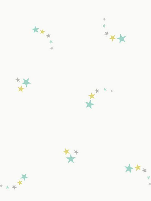 Shooting Stars Wallpaper Teal Holden 12592