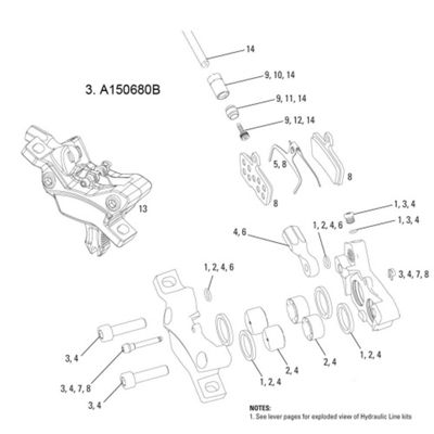 Avid Caliper Hardware Kit Code/Code R 2011 (1 pc)