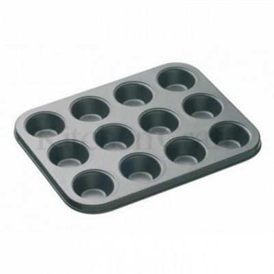 Masterclass Non Stick 12 Mini Hole Cupcake Pan