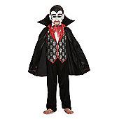 F&F Vampire Halloween Costume - Black