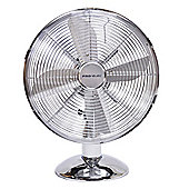 Pro-Elec FT-30M 12 Inch Desk Fan - Antique Metal