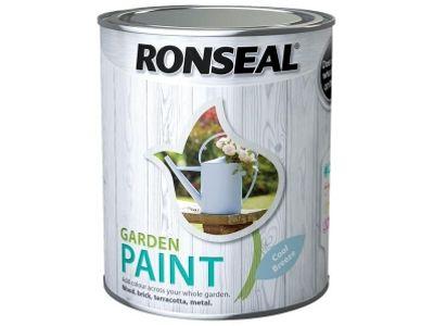 Ronseal RSLGPCDB25L 2.5 Litre Garden Paint - Cool Breeze