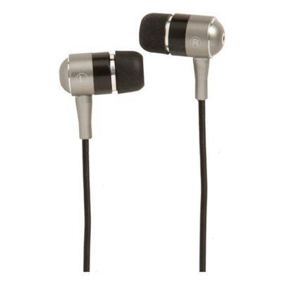 Groov-e GVEBMBK Stereo Headphones - Silver