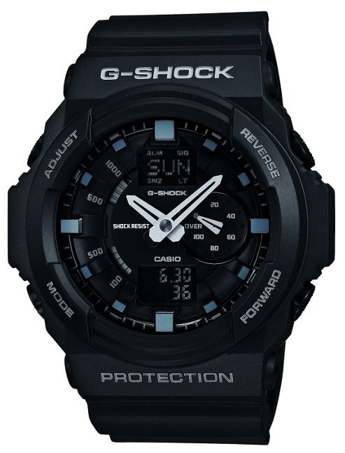Casio G-Shock Mens Resin Chronograph Watch GA-150-1AER
