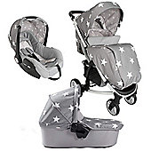 My Babiie Billie Faiers MB200+ Travel System (Grey Stars)