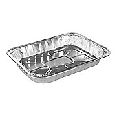 Tala Rectangular Aluminium Foil Roaster, Disposable & Reusable