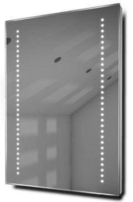 Gaze Ultra-Slim LED Bathroom Illuminated Mirror With Demister Pad & Sensor k10