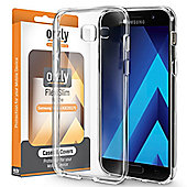 Orzly Flexi Case Cover for Samsung Galaxy A3 (2017) - Clear