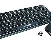 Mini Wireless Keyboard and Mouse Deskset