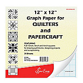 """Sew Easy Quilters Graph Paper Pad (12"""" x 12"""")"""