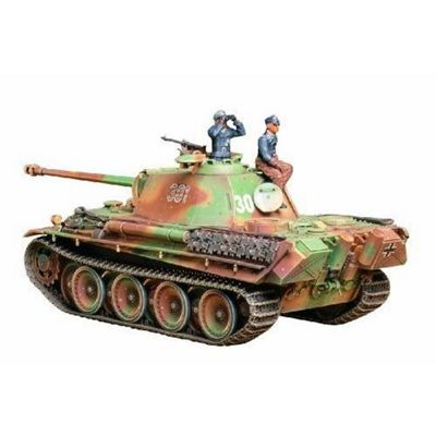 German Panther Type G Late Version - 1:35 Scale Military - Tamiya