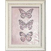 Enchanted Butterflies Framed Print 40cm x 50cm