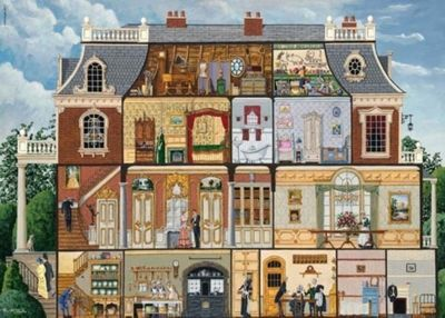 Upstairs Downstairs - 1000pc Puzzle