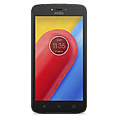 Tesco Mobile Moto C Black with Headsets