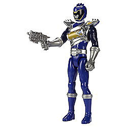 Power Rangers Dino Super Charge Dino Drive Blue Ranger Action Figure