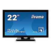 Iiyama ProLite T2236MSC-B2 (21.5 inch Multi-touch) LED Backlit LCD Monitor (Black)