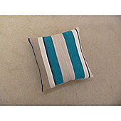 Mason Grey Aspen Teal Cushion Cover - 43x43cm