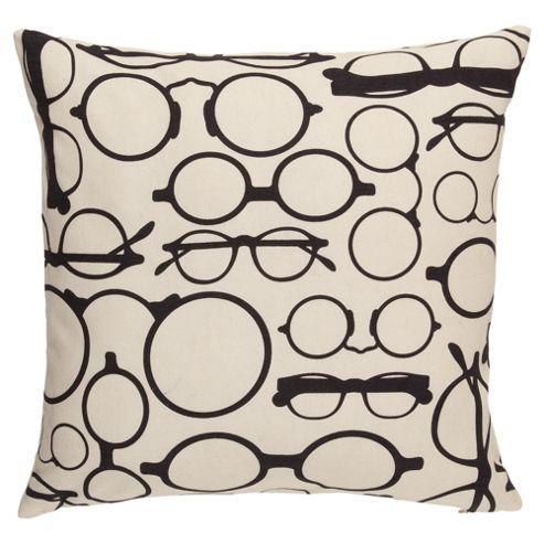 F&F Home Glasses Print Cushion