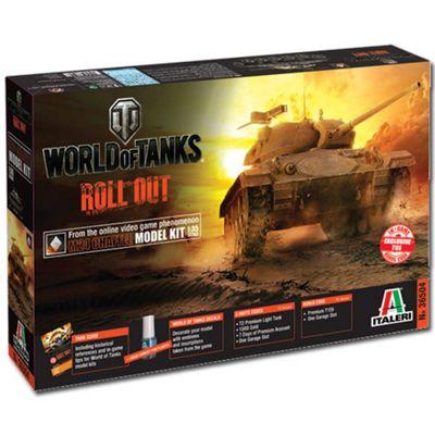 Italeri World Of Tanks M24 Chaffee 36504 1:35 Military Model Kit