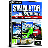 Tanker, Garbage and Truck Simulator Triple Pack