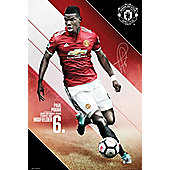 Manchester United FC Pogba 17-18 Poster 61 x 91.5cm
