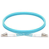Vision TC 1MFBR LCLC 1m LC Blue fiber optic cable