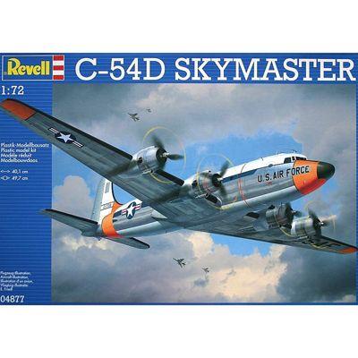 REVELL 04877 C-54D Skymaster 1:72 Aircraft Model Kit
