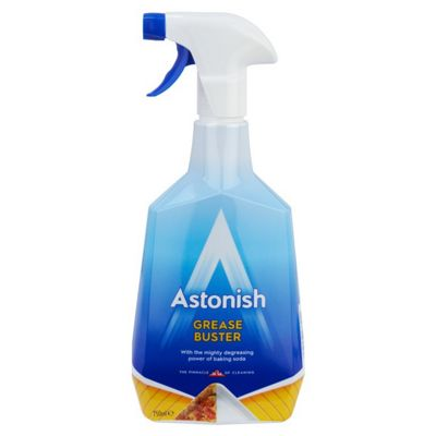 Astonish Grease Off 750ml Multi Purpose De-greaser No Rinse Spray Trigger