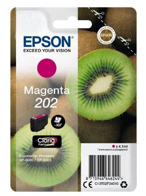 Epson 202 4.1ml 300pages Magenta ink cartridge 300 pages