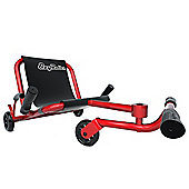 Ezy Roller Classic No-Pedal Snake Kart Red