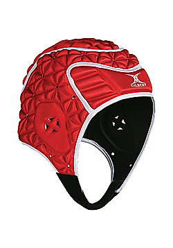 Gilbert Evolution Rugby Headguard - Red