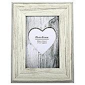 Cream Distressed Wood Frame 4X6