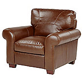 Ledbury Leather Armchair, Tan