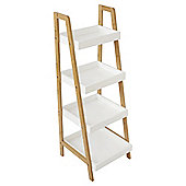Lloyd Pascal Bamboo Storage Ladder with Shelving