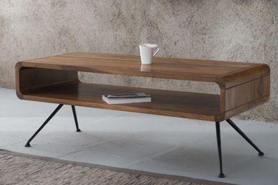 Maya Solid Acacia Wood Coffee Table Table