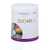 Memorex DVD-R 4.7GB 16X 120 min 100 Pack