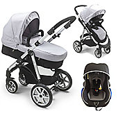 Mee-go Pramette Travel System - Grey