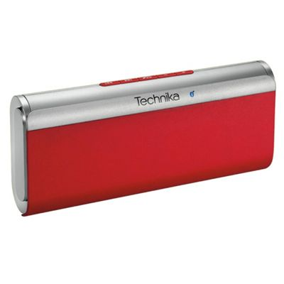 Technika SM 21201R Paris Bluetooth Portable Speaker Red