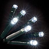 1000 Ice White LED Chaser Lights