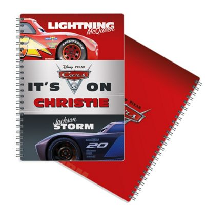 Cars 3 Personalised Notepad