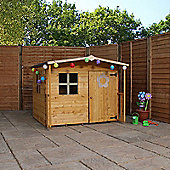 5 x 5 Sutton Apex Playhouse With Overhang (5ft x 5ft) - Fast Delivery - Pick A Day