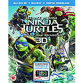 Teenage Mutant Ninja Turtles: Out Of The Shadows Blu-ray 3D