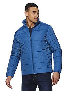 F&F Shower Resistant Puffer Jacket - Blue