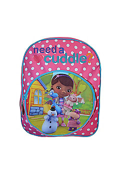 Doc Mcstuffins Junior Front Pocket Backpack