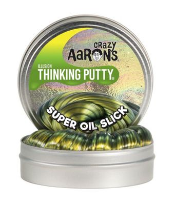 Crazy Aaron's Large Thinking Putty - Super Illusions Oil Slick