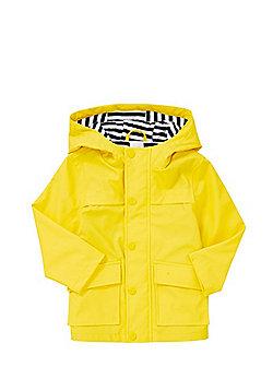 F&F Hooded Mac - Yellow